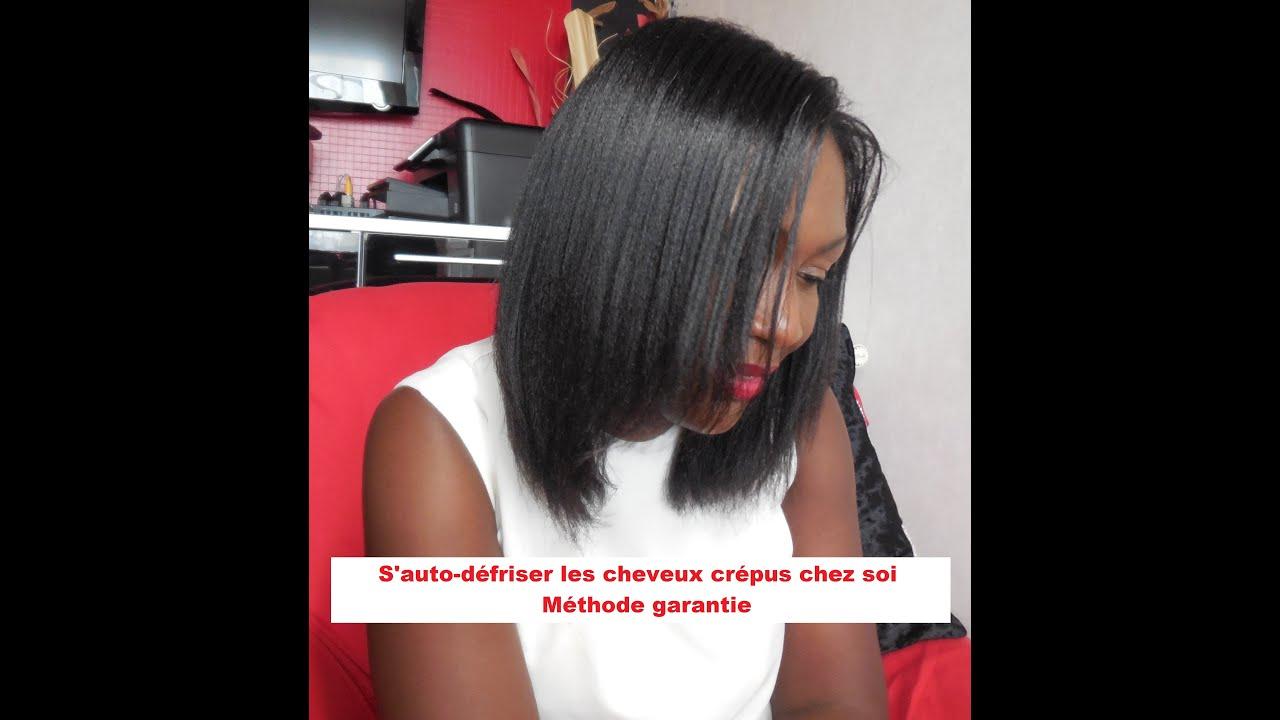 Favori S'auto-défriser les cheveux crépus chez soi _ Méthode garantie  MX02