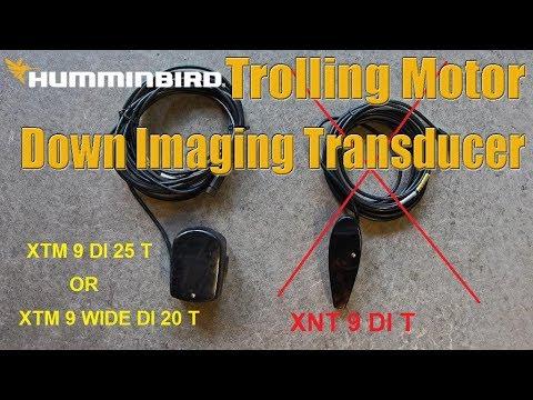 Tips 'N Tricks 196: Humminbird Installation Tip for Down Imaging on  Trolling Motor