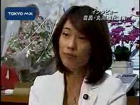 07参院選 東京選挙区] アナウンサーから転身 丸川珠代議員 - YouTube