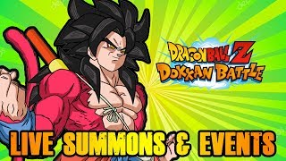 SS4 GOKU IS LIVE! RUNNING HIS EVENT AND DOING LIVE SUMMONS | DRAGON BALL Z DOKKAN BATTLE