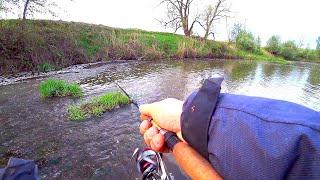 Клюёт ли голавль на сломе погоды Рыбалка на спиннинг на малой реке Ловля голавля на спиннинг