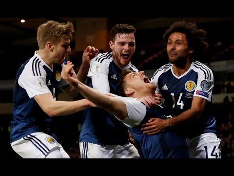 Scotland - Slovenia 1-0 Goals and Highlights 26/03/2017