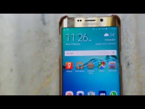 Display problem - Black spot on Samsung Galaxy S6 Edge plus display
