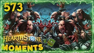 Best Army Of The Dead!! | Hearthstone Daily Moments Ep. 573