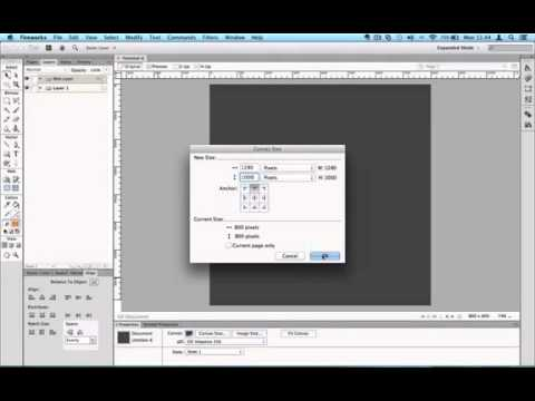 Tutorial: Adobe Fireworks for Beginners Lesson 2