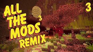 All The Mods 3 Remix Ep. 3 We Need Armor + Ore Excavator