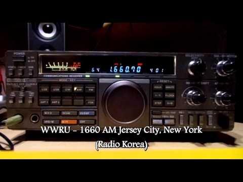 WWRU Jersey City NY Radio Korea MW 1660 khz
