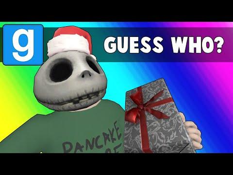Gmod Guess Who Funny Moments - Stomping on the Nogla Bug! (Garrys Mod Christmas)