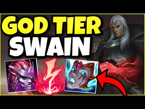 (INSANE GAME!) SWAIN IS 100% BROKEN IN SEASON 11! THIS IS HOW YOU PLAY SWAIN SUPPORT PERFECTLY!
