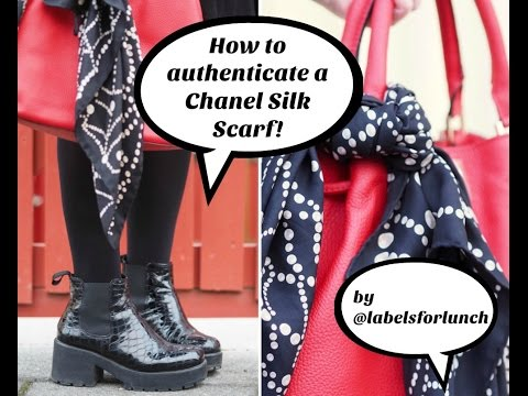 How to authenticate a chanel silk scarf!!!!! - YouTube b2ac28b7e