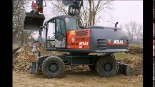 Экскаваторы Atlas 220W, запчасти Atlas 220W, сервис Atlas 220W