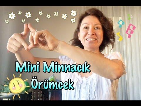 Mini Minnacık Örümcek Cocuk Sarkisi