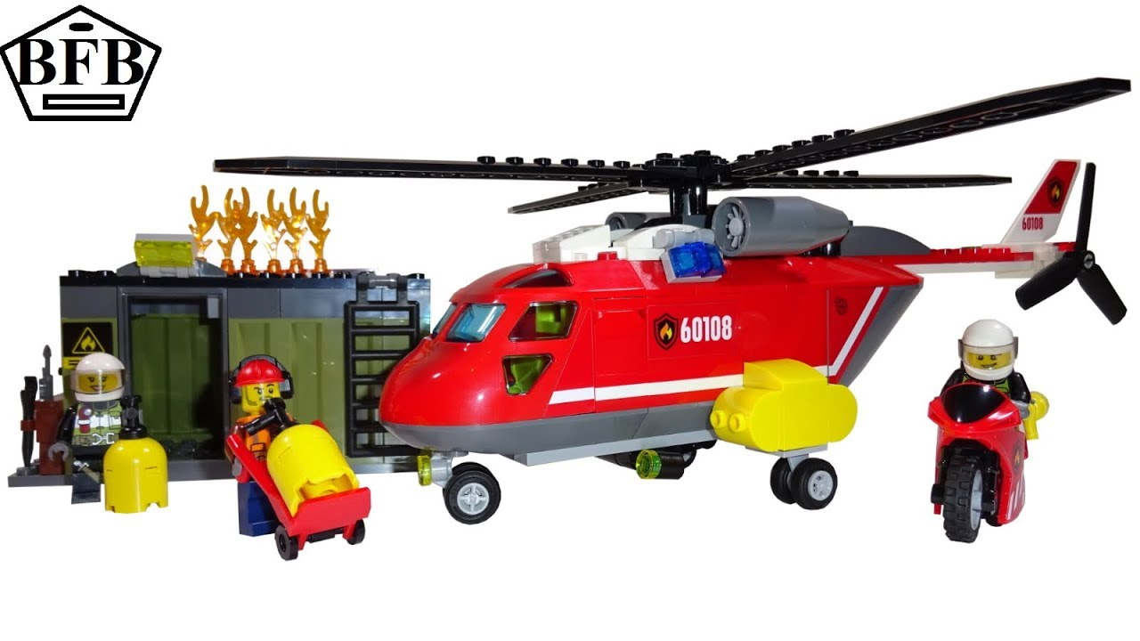 Lego Feuerwehr Speed Build