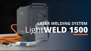 LightWELD 1500 Laser Welding System