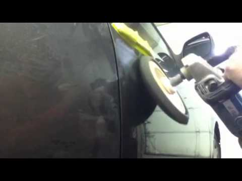 how to remove clear coat from car