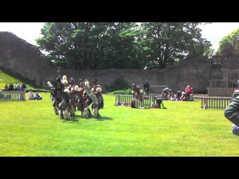 Zulus invade Dudley castle (1)
