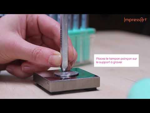 ImpressArt | Technique de base de gravure sur métal ♡ Tutoriel