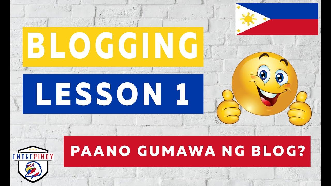 Paano gumawa ng blog - Pinoy blogger - Blogging Tagalog Tutorial Part 1