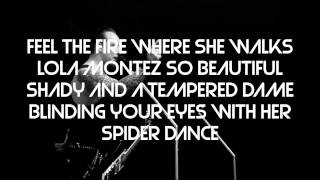 Volbeat - Lola Montez [ Lyrics video ] (HD)