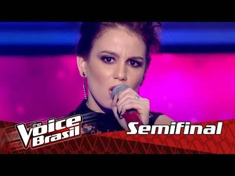 "Carol Biazin canta ""Dream On"" na Semifinal – 'The Voice Brasil' 