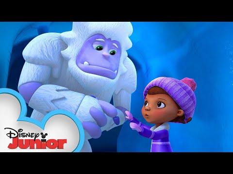 I Am Yeti, Hear Me Roar | Doc McStuffins Arctic Rescue | Disney Junior