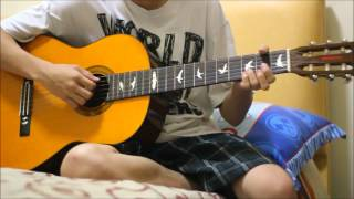 Pujiono - Manisnya Negeriku (Fingerstyle Guitar Cover)