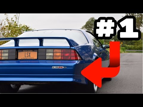 7 Things I HATE About My LS Swapped Camaro!