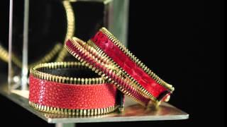 Coralie - Paris:  la collection de bracelets en cuir