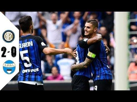 Inter Milan vs SPAL - Goals & Highlights - 10.09.2017  HD