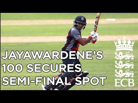 Jayawardene's 100 secures semi-final spot,...
