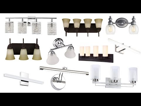 Top 10 Best Rated & Best Selling Bathroom Vanity Lights With