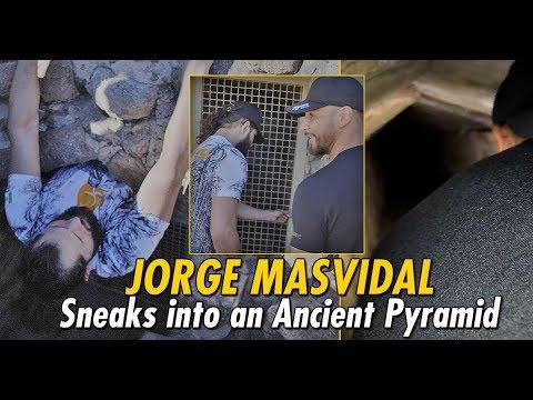 Jorge Masvidal & Yair Rodriguez Sneak Into Ancient Pyramid   The Traveler