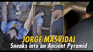 Jorge Masvidal & Yair Rodriguez Sneak Into Ancient Pyramid | The Traveler