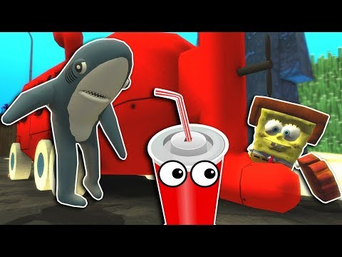 SPONGEBOB SQUAREPANTS HIDE AND SEEK! - Garry's Mod Gameplay - Gmod Multiplayer Prop Hunt thumbnail