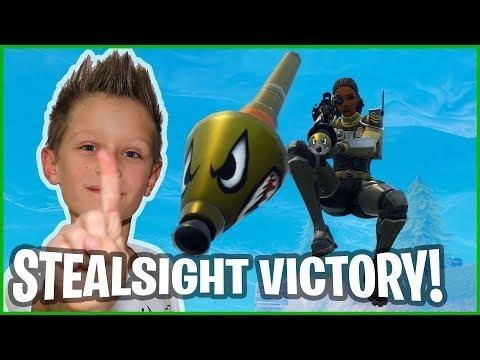 New SteelSight Victory Royale In Fortnite Battle Royale!