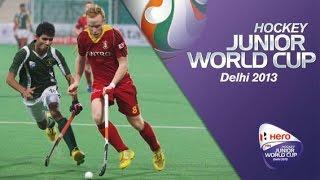 Belgium vs Pakistan - Men's Hero Hockey Junior World Cup India Pool A [10/12/2013]