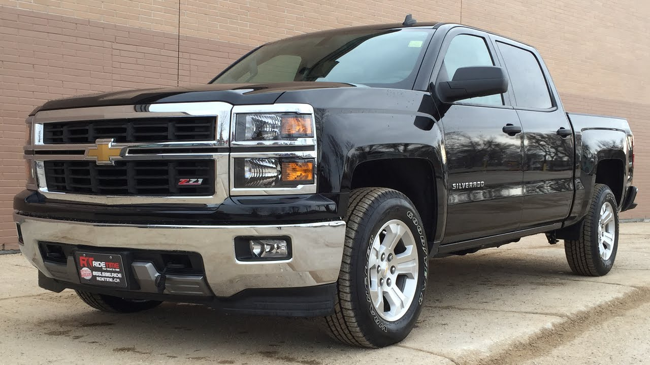 medium resolution of 2014 chevrolet silverado 1500 2lt z71 4wd crew cab 5 3l backup camera sensors huge value youtube