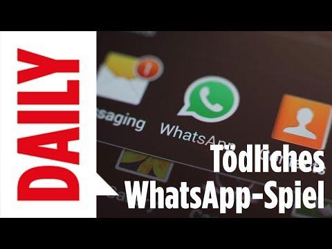 Blue Whale Challenge - Tödliches Whats App Spiel - BILD Daily live 29.06.17