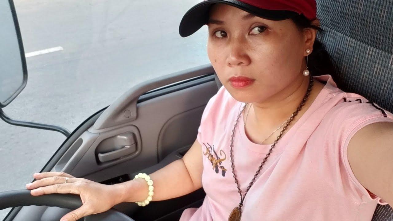 Nữ tài xế lái xe ISUZU ,tâm sự  vượt khó của bản thân 13