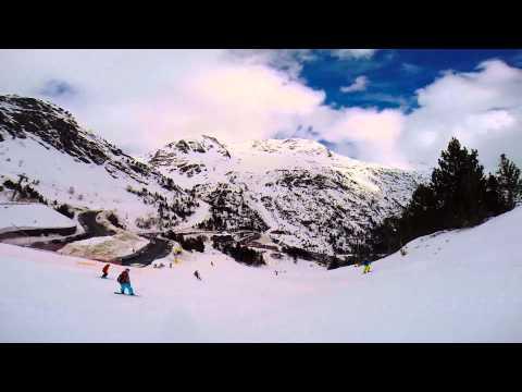 GoPro HERO3+: Snow Arcalis - Ordino ( Andorra ) 2014