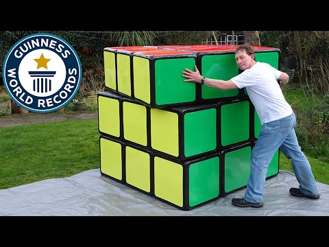 Thumbnail: Largest Rubik's Cube - Guinness World Records