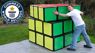 Largest Rubik's Cube - Guinness World Records thumbnail