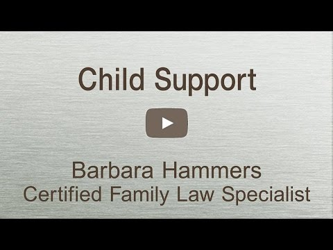 CA Child Support facts you must know.
