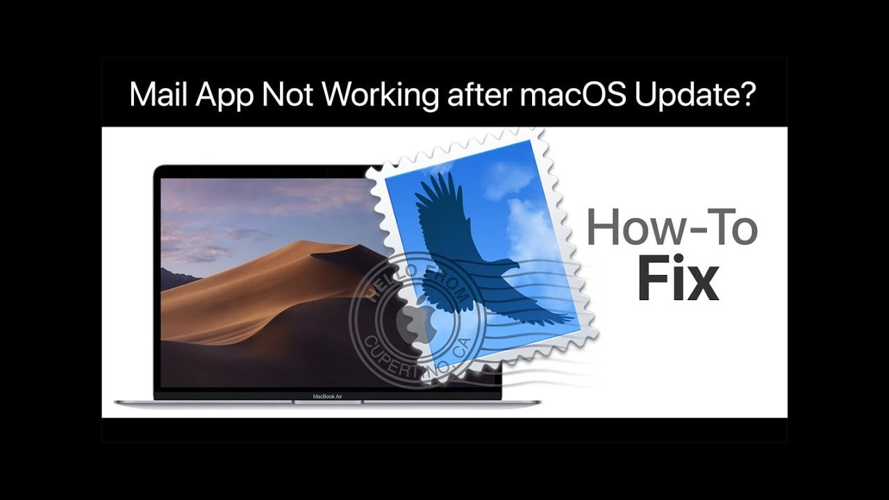 Mail Not Working After macOS Mojave Upgrade, How-To Fix