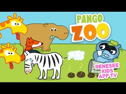Funny Animals Pango Zoo Story Animation App