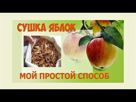 Как засушить яблоки в домашних условиях без духовки