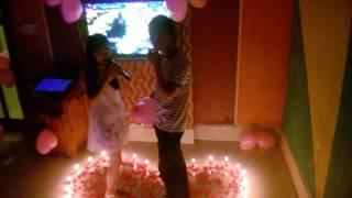 Hot girl 9x tổ chức sinh nhật cho người yêu cự kỳ lãng mạn
