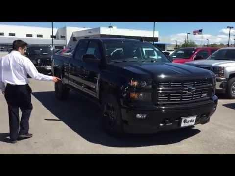 2015 Chevy Silverado Midnight Edition