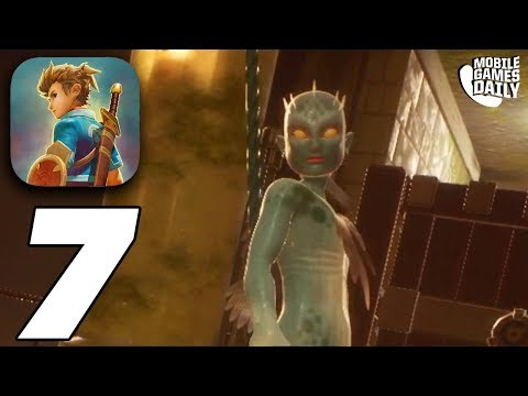 OCEANHORN 2 - Gameplay Walkthrough Part 7 - Thunderstones (Apple Arcade)