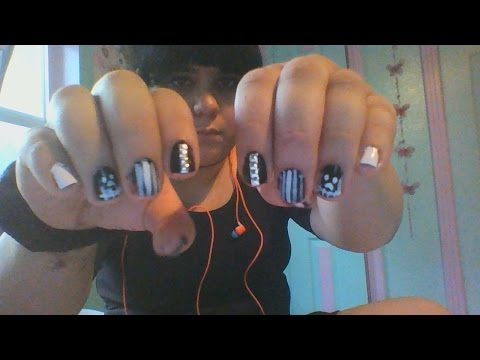 Doing my own Goth/ Punk Rock Nails